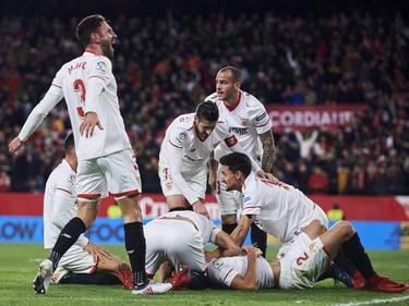 Der FC Sevilla wartet auf seinen Final-Gegner in der Copa del Rey