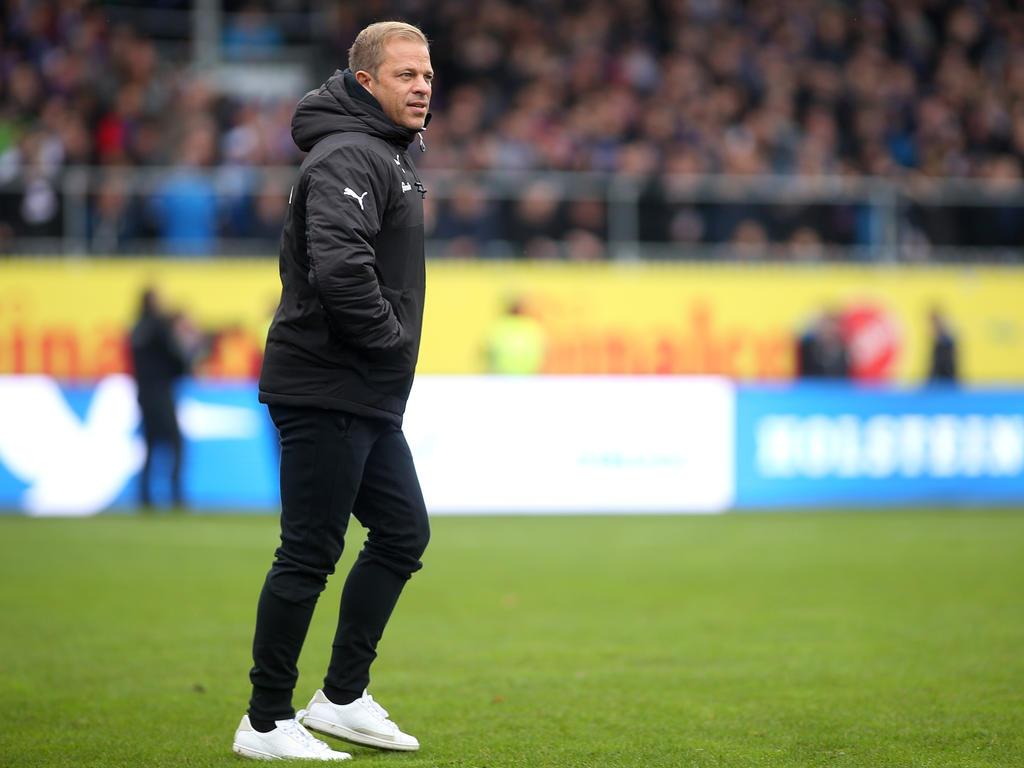 Markus Anfang peilt mit dem 1. FC Köln den direkten Wiederaufstieg an