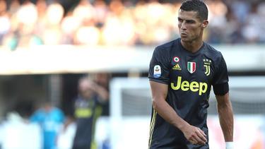 Cristiano Ronaldo blieb im ersten Pflichtspiel für Juventus torlos