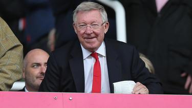 Sir Alex Ferguson trainierte Manchester United von 1986 bis 2013