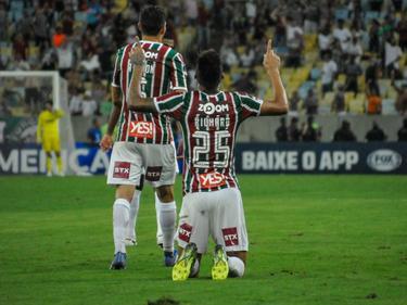 Richard marcó el segundo tanto del Fluminense. (Foto: Imago)
