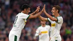 Lars Stindl (l.) und Gladbach sind selbstbewusst im DFB-Pokal