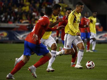 Colombia no tuvo rival durante el partido. (Foto: Getty)