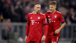 Joshua Kimmich und Franck Ribéry haben sich gegen Bremen nicht schwerer verletzt