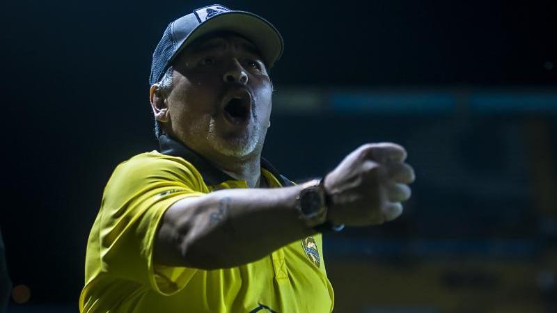 Hat immer wieder mit gesundheitlichen Problemen zu kämpfen: Diego Maradona