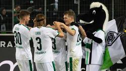 Gladbach hat gegen den FC Augsburg einen Vereinsrekord eingestellt