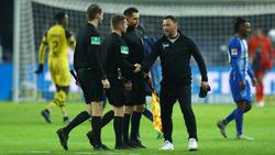 Hertha BSC hat nach dem BVB-Spiel einen Anwalt eingeschaltet