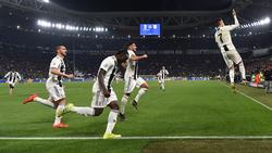 Cristiano Ronaldo (r.) ließ sich zu einer provokanten Geste hinreißen