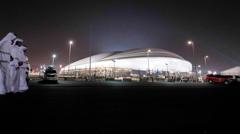 Das Stadion Al-Dschanub südlich der Hauptstadt Doha