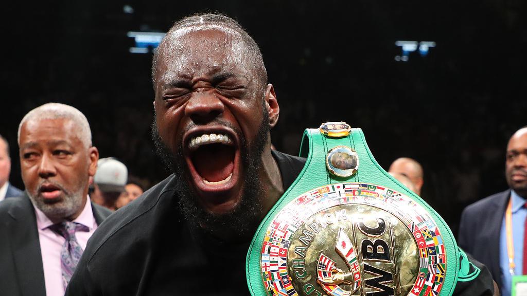 Wilder will Rückkampf gegen Fury