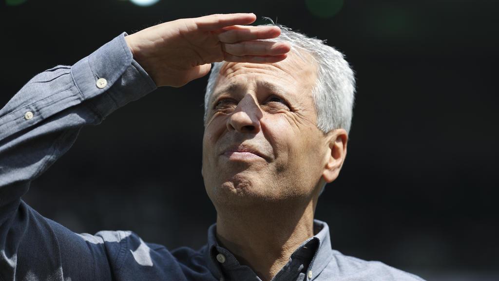 BVB-Coach Lucien Favre wünscht sich einen kleineren Kader