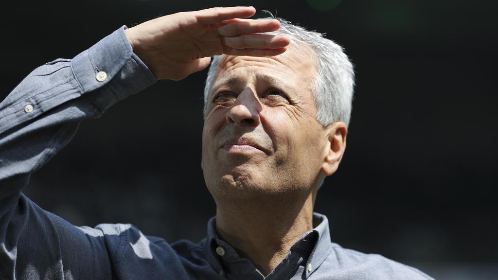 Lucien Favre blickt mit dem BVB in die Zukunft