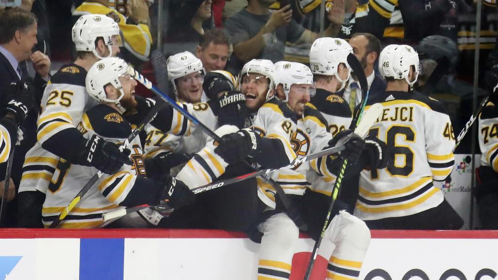 Die Boston Bruins stehen im Finale der NHL-Playoffs