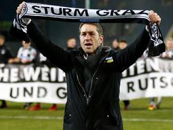 Franco Foda will auch sein letztes Spiel als Trainer von Sturm Graz erfolgreich gestalten