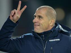 Altach-Trainer Klaus Schmidt darf sich ab Jänner über Goalgetter Volkan Akyildiz in seinem Kader freuen