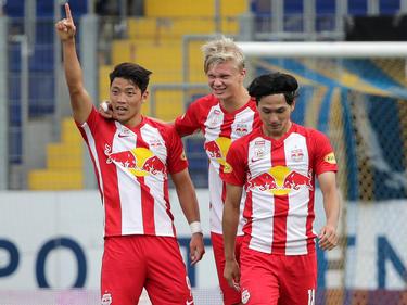 Salzburg versucht, gegen Hartberg konzentriert zu bleiben