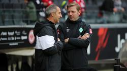 Adi Hütter und Florian Kohfeldt gaben nach dem Spiel ihre Einschätzungen ab