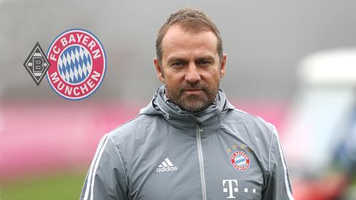 Bayern-Coach Hansi Flick hat zum Spiel gegen Gladbach Stellung genommen