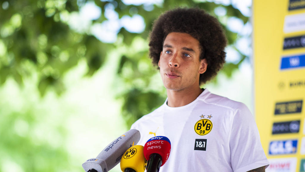BVB-Leader Axel Witsel steht vor der Rückkehr ins Training