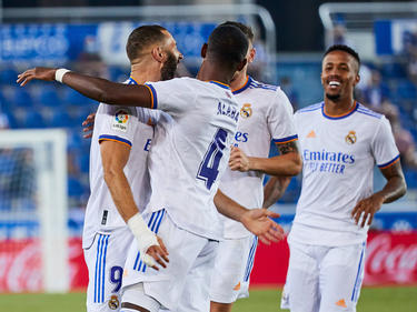 El Madrid tuvo el control del partido desde el inicio.