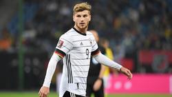 Timo Werner ist im DFB-Team derzeit das Sorgenkind