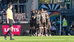 Der FC St. Pauli hat einen Kantersieg gefeiert
