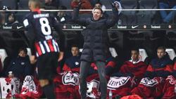 Julian Nagelsmann und RB Leipzig kamen in Frankfurt unter die Räder