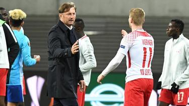 Ralph Hasenhüttl trainierte Timo Werner in Leipzig