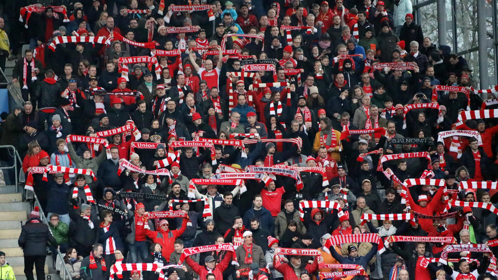 Dürfen die Union-Fans bald wieder ins Stadion?