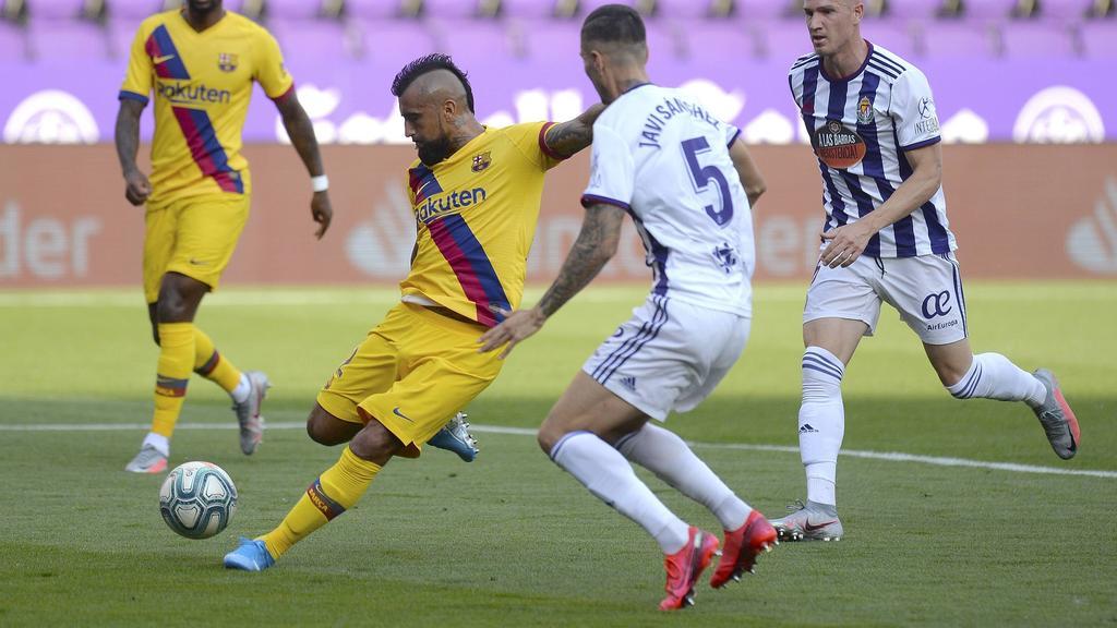 Vidal schoss Barca zum Sieg