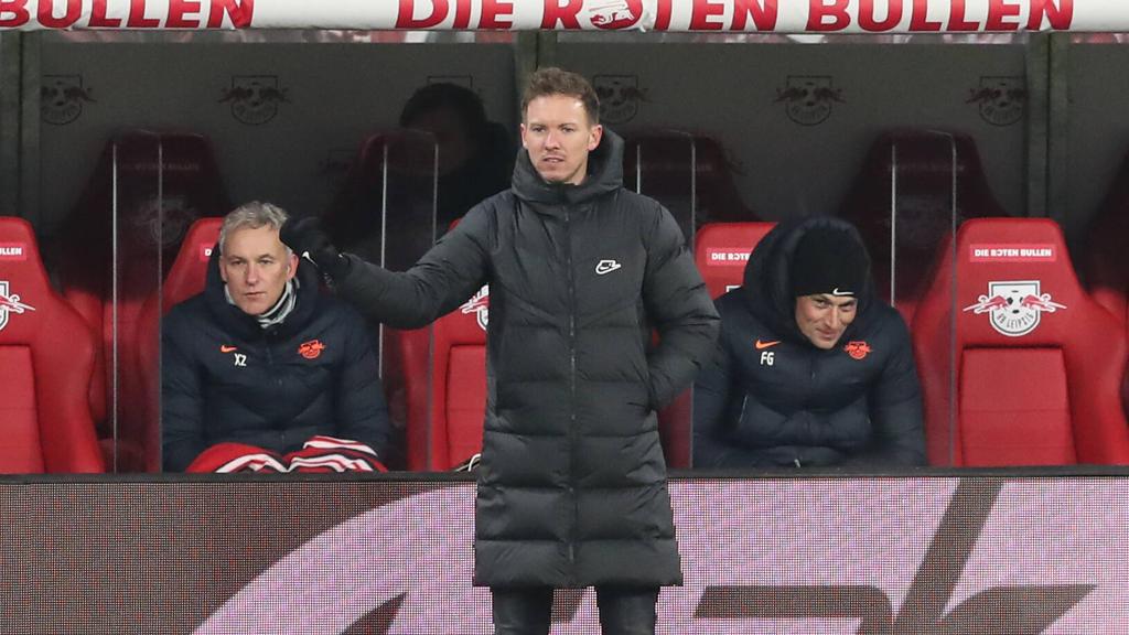 RB Leipzigs Trainer Julian Nagelsmann sieht die Länderspielabstellungen seiner Nationalspieler als rein politisches Thema