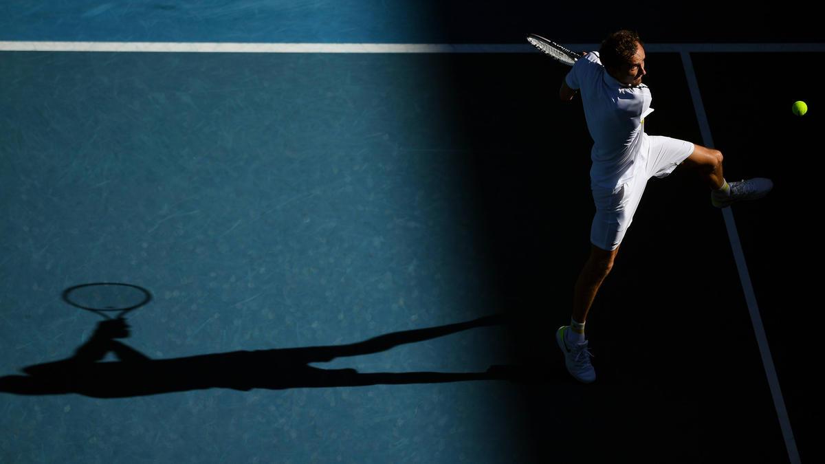 Daniil Medvedev steht im Halbfinale der Australian Open