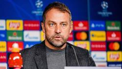 Hansi Flick und der FC Bayern treffen am Mittwochabend auf PSG