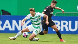 Greuther Fürth nur Remis in der 2. Bundesliga
