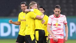 Große Freude beim BVB, Trauer bei RB Leipzig