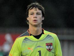 Daniel Bachmann im ÖFB-Teamdress (2010)