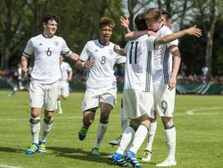 Die U18 des DFB bleibt im Kalenderjahr 2016 ungeschlagen