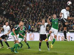 Die DFB-Elf war immer einen Tick schneller am Ball als die Nordiren