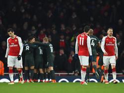 Mkhitaryan, Özil und Mustafi (v.l.n.r.) sollen den Unmut ihrer Mitspieler auf sich gezogen haben