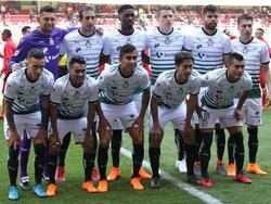 Once del Santos en un duelo reciente de la Liga Bancomer. (Foto: Imago)