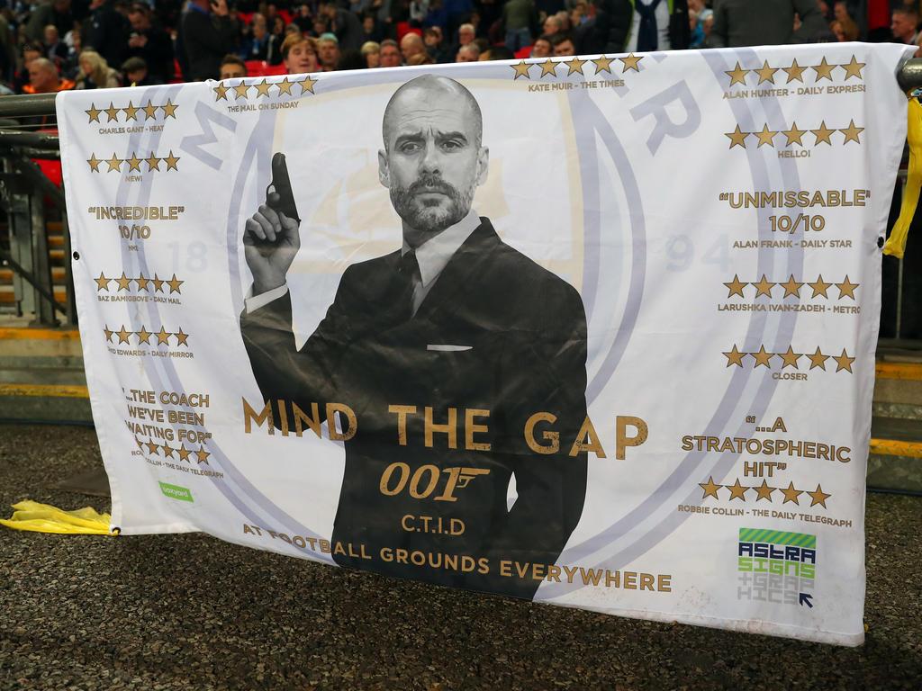 Pep Guardiola wehrte sich gegen die Kritik