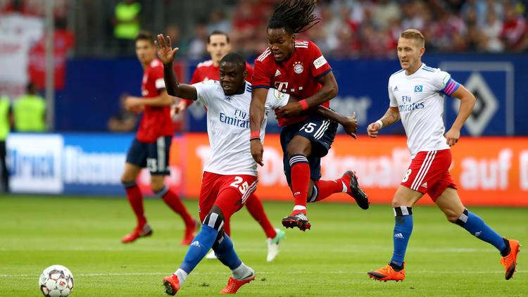 Der FC Bayern gastierte zum Testspiel in Hamburg
