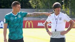 Toni Kroos steht Joachim Löw weiter zur Verfügung