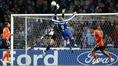 Manuel Neuer wuchs 2008 gegen den FC Porto über sich hinaus