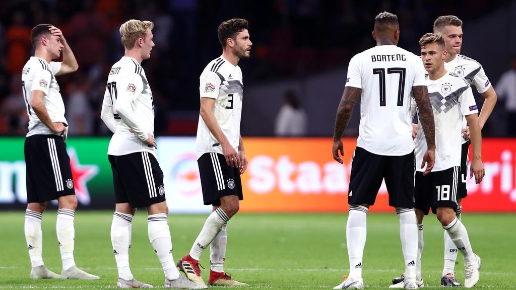 Dei DFB-Elf hat eine empfindliche Niederlage erlitten