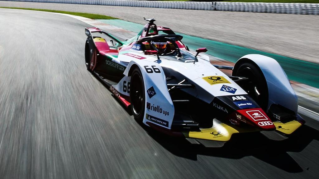 Die Boliden der Formel E sehen immer futuristischer aus [Bildquelle: Audi.com]