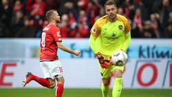 Mainz 05 besiegt den 1. FC Nürnberg