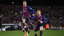 Coutinho lideró al Barcelona con un doblete. (Foto: Getty)