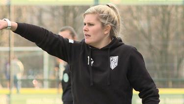 Imke Wübbenhorst peilt jetzt die Fußballlehrer-Lizenz an