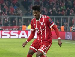 David Alaba von Bayern München